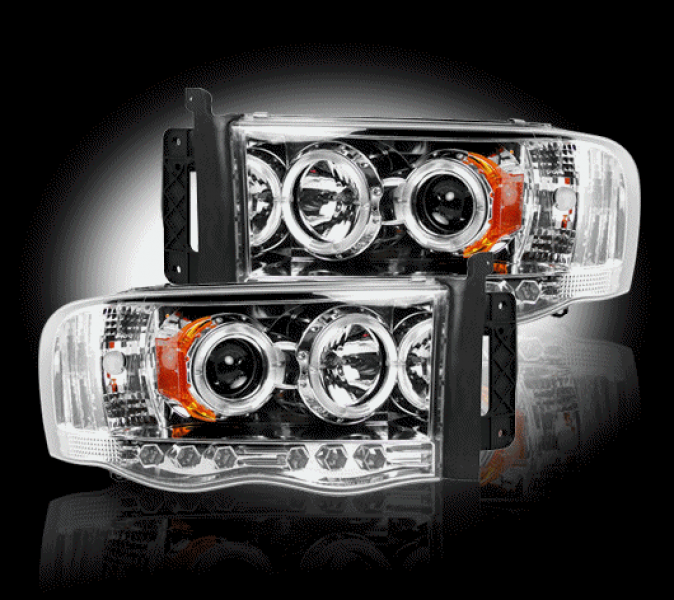 Recon Truck Accessories Projector Headlights - Dodge Ram