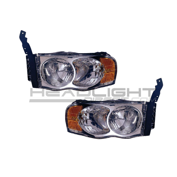 Dodge Ram 2500 Pickup Truck 2003-2005 Headlights