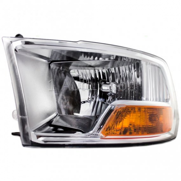 2009*-2012 Dodge Ram Headlight Dodge Pickup Truck Front Headlamp w/o ...