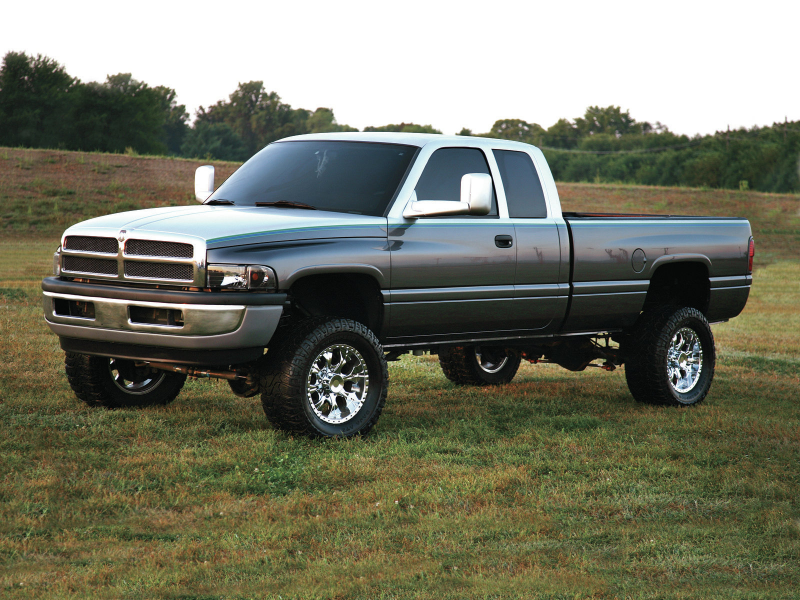 Family Effort 2002 Dodge Ram 2500 Two Toned Paint