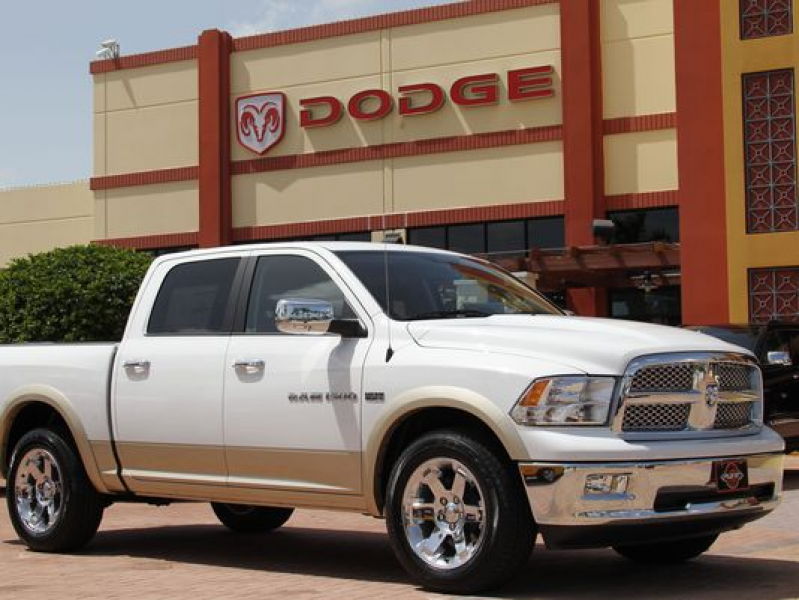 2011 Dodge RAM 1500 pickup truck is shown at the Planet Dodge ...