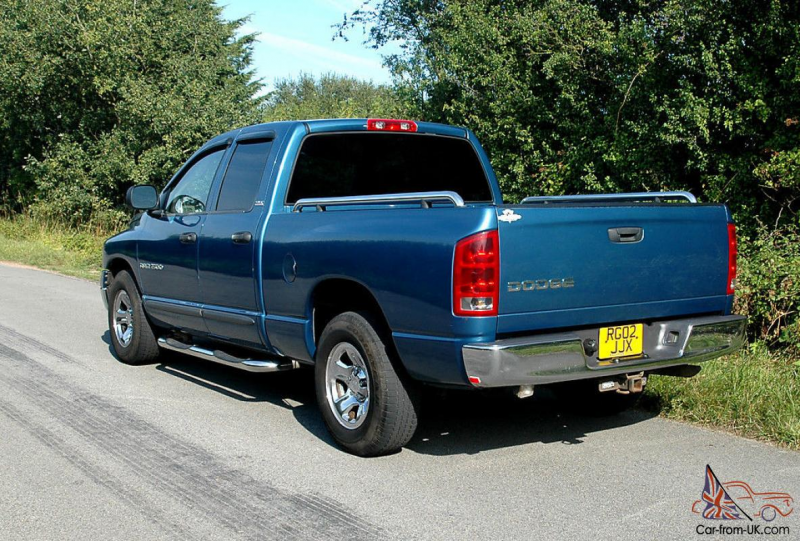 2002 Dodge Ram 1500 4.7 V8 4 door New exhaust system just fitted for ...