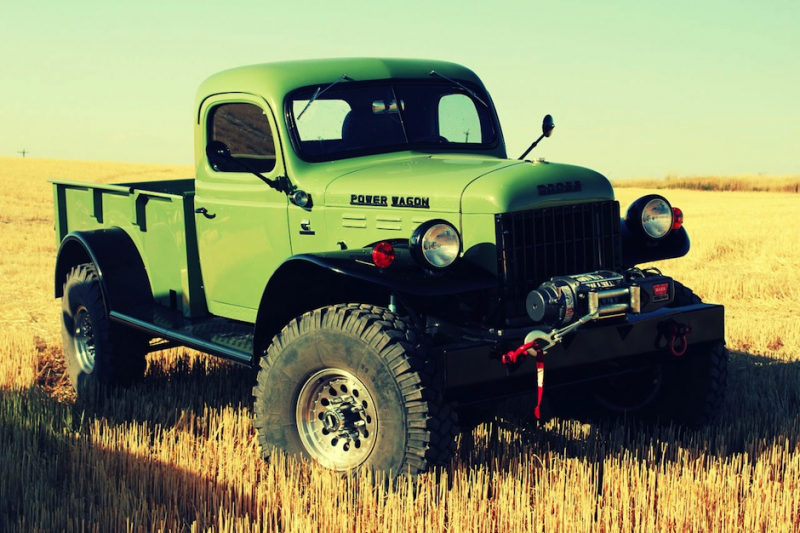 Dodge Power Wagon by Legacy Classic Trucks