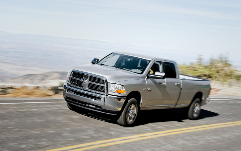 2012 Ram 2500 SLT 4x4 CNG First Drive Photo Gallery