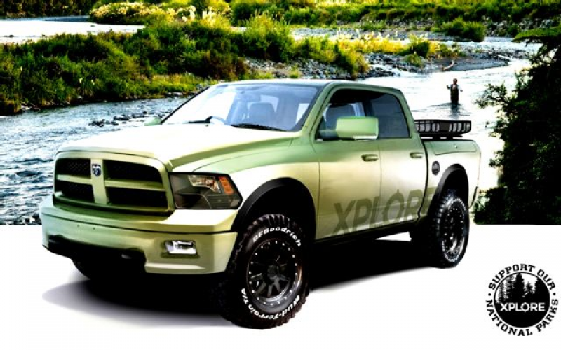 Support Your National Parks With the Xplore Special-Edition Ram