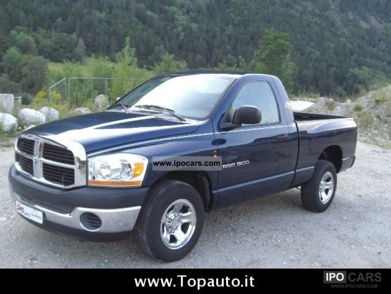 2006 Dodge RAM 1500 3.7 4 X 2 Off-road Vehicle/Pickup Truck Used ...