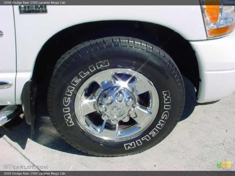 The Wheel Specifications For A 2006 Dodge Ram 1500 Mega /page/page/247