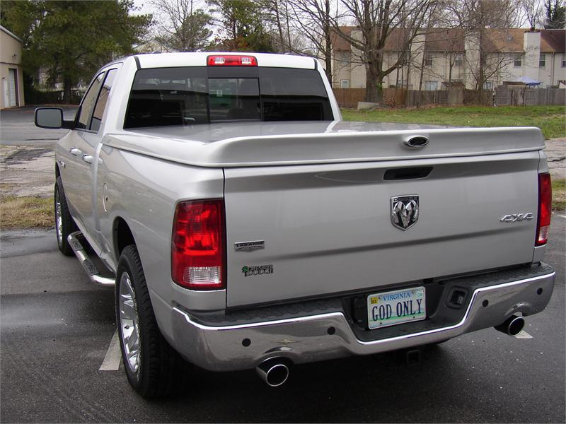 Patriot Stealth Fiberglass Tonneau Cover Dodge Ram 6.3' Bed 2003-2008