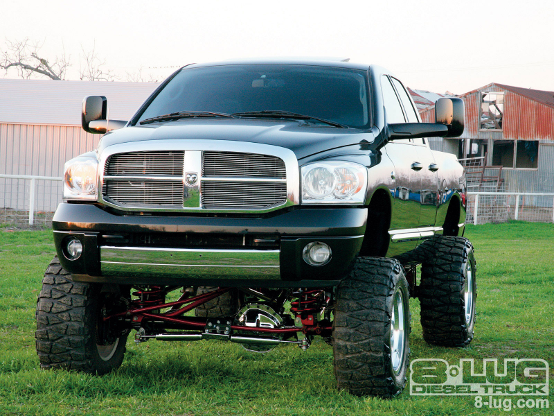 2007 Dodge Ram 2500 Lifted Truck