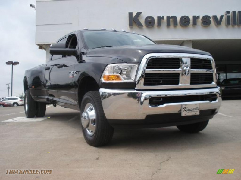 2011 Ram 3500 HD ST Crew Cab 4x4 Dually - Brilliant Black Crystal ...