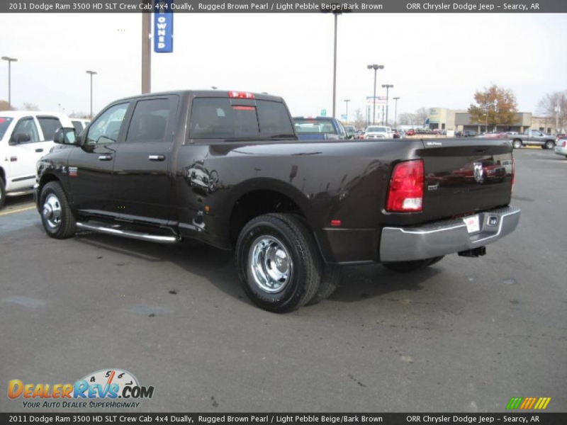 2011 Dodge Ram 3500 HD SLT Crew Cab 4x4 Dually Rugged Brown Pearl ...
