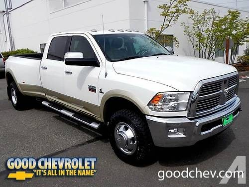 2011 Dodge Ram 3500 4D Crew Cab Laramie 4x4 for sale in Renton ...