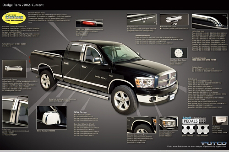 Choose from a full line of top-quality Dodge Chrome Accessories ...