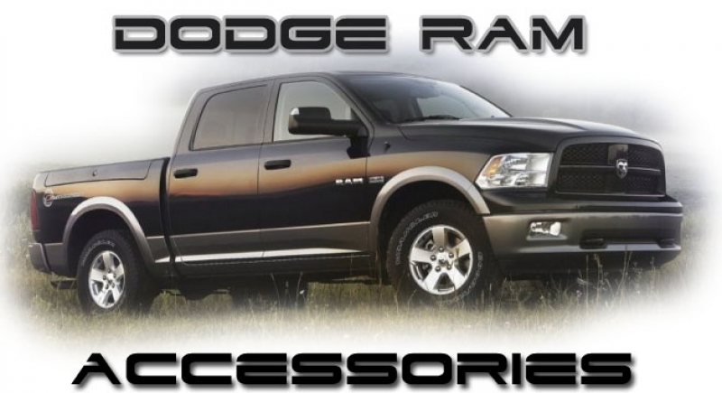 one choice for Dodge RAM accessories. We offer the same accessories ...