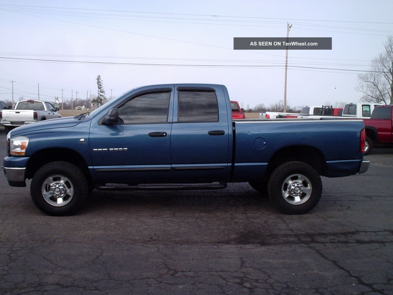 Ram 2500 Slt Crew Cab Pickup 4 - Door 5. 9l Diesel 4x4 Ram 2500 photo ...