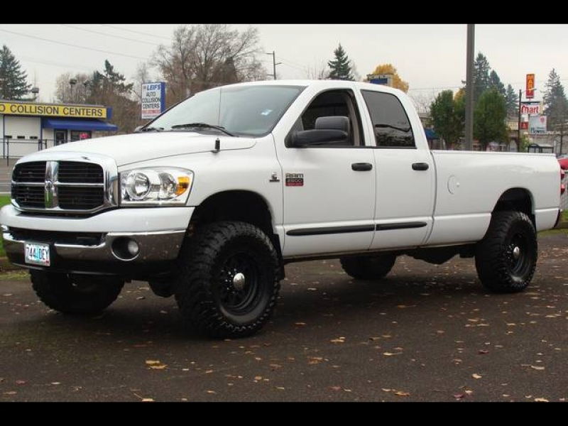 2007 Dodge Ram 2500 5.9 DIESEL crew cab 4X4 - Photo 1 - Milwaukie, OR ...