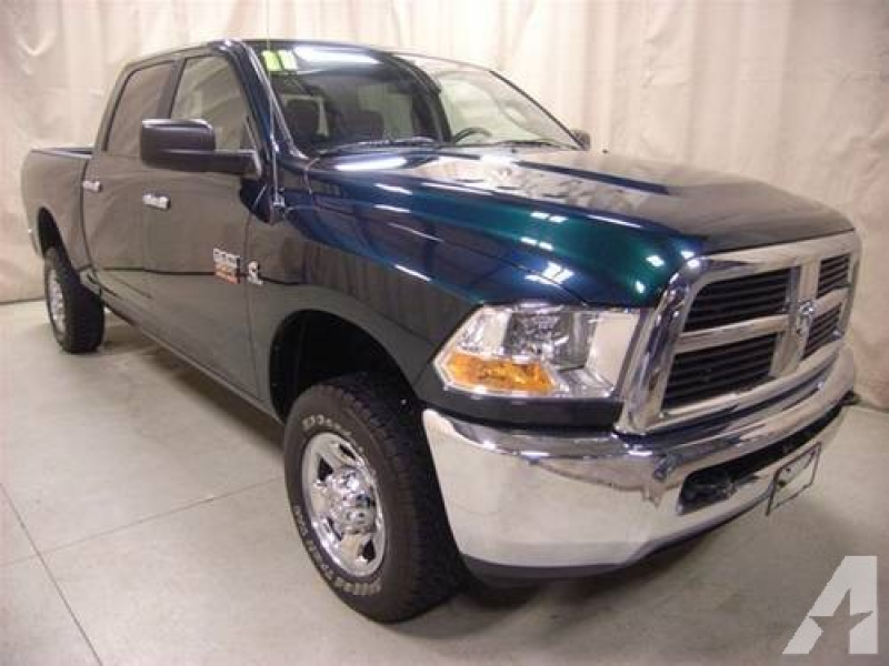 2011 Dodge Ram 2500 SLT Crew Cab Diesel for sale in Roscoe, Illinois