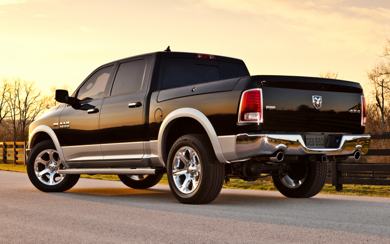 2013 Ram 1500 Rear Three Quarters