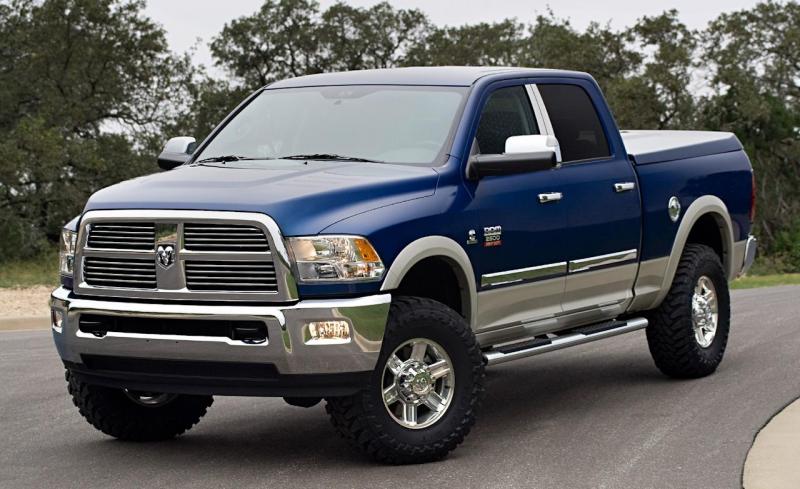 2010 Ram 2500 Laramie Crew Cab with Mopar accessories