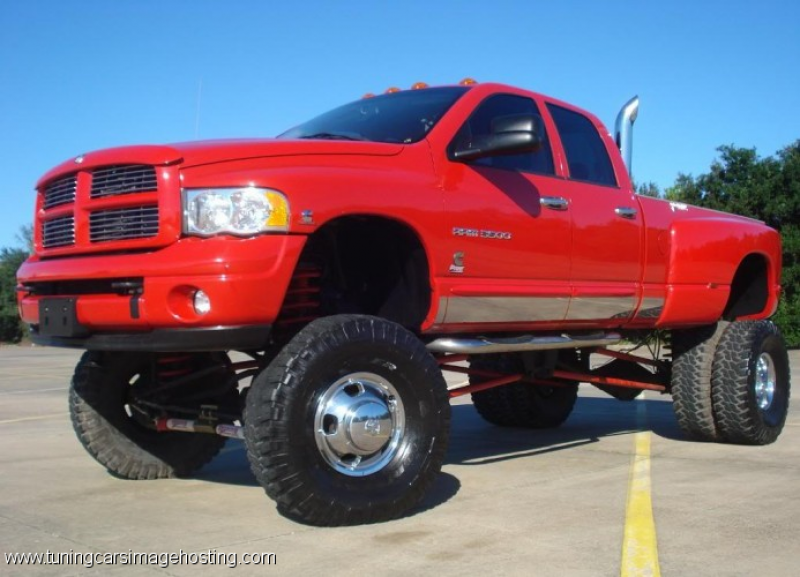 Dodge Ram 3500 Lifted