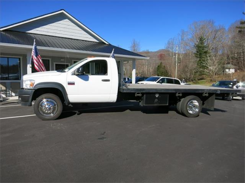 2008 Dodge RAM 4500 ST 16' FLATBED - FAIRVIEW NC