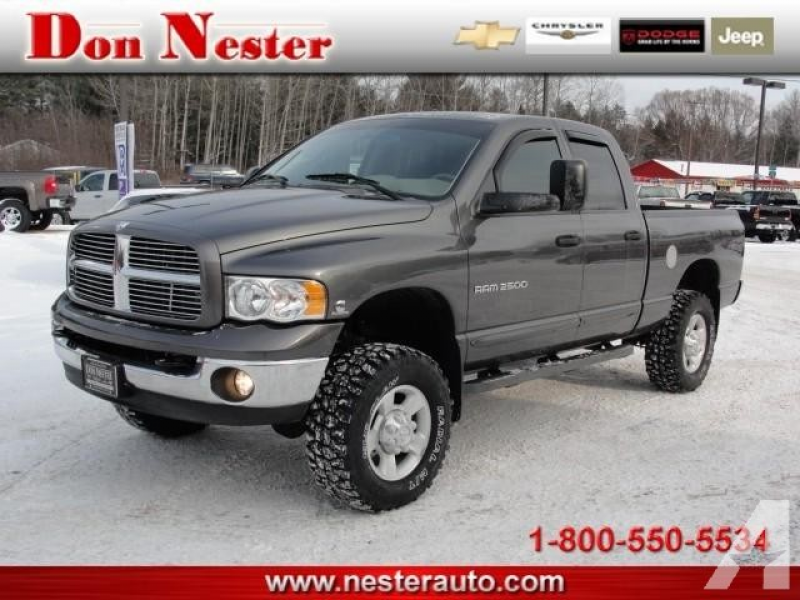 2003 Dodge Ram 2500 for sale in Roscommon, Michigan
