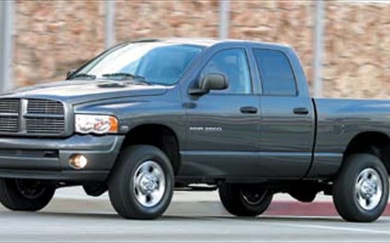 2003 Dodge Ram 2500 Hd Front Side View