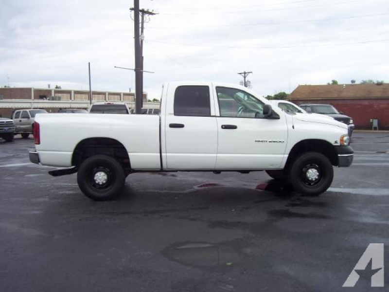 2003 Dodge Ram 2500 ST Quad Cab for sale in Girard, Kansas
