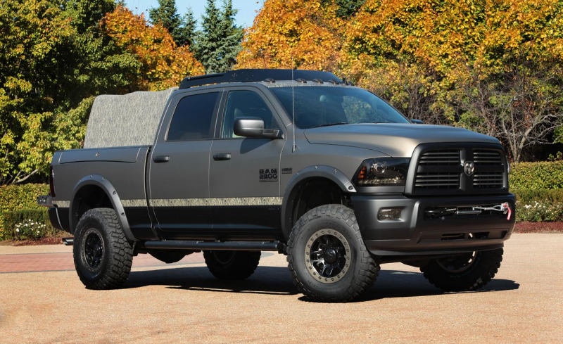 Ram 2500 Outdoorsman concept photo