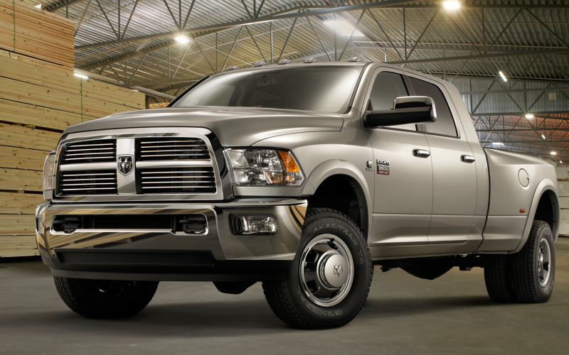 2012 Ram 3500 Heavy Duty Front Three Quarters