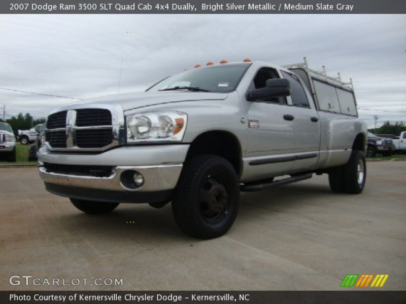 Learn more about Dodge Ram 3500 Dually 2007.