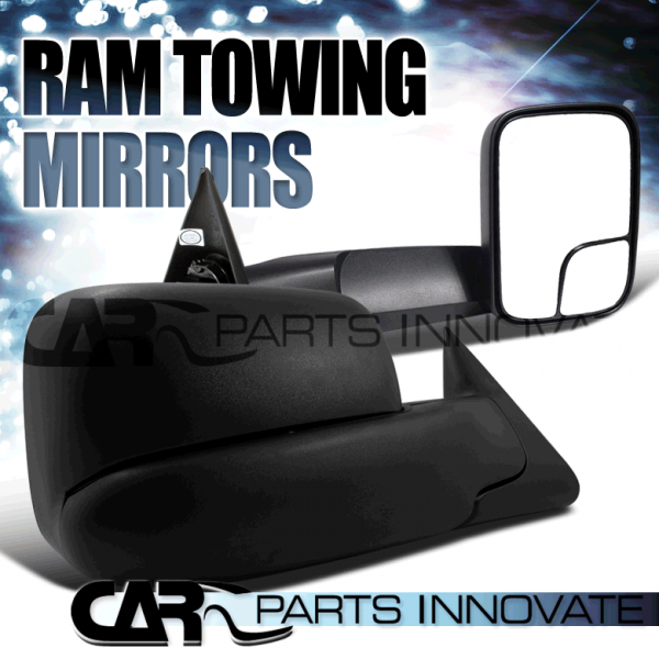 ... about DODGE RAM 1500 2500 3500 TRUCK TOWING SIDE MIRRORS POWER HEATED