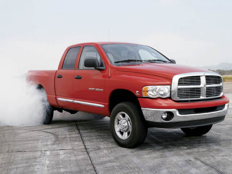 2004 Dodge Ram Heavy Duty 2500 Quad Cab Burnout