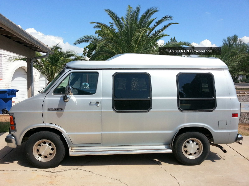 1991 Dodge Ram Van 250 With Raised Roof. Ram Van photo