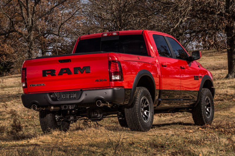 2015 Ram 1500 Rebel Rear Three Quarter 1 Photo 13