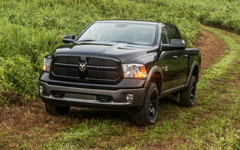 2013 Ram 1500 Outdoorsman Front Three Quarter