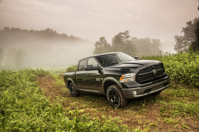 The 2013 Ram 1500 is custom made for the outdoorsman