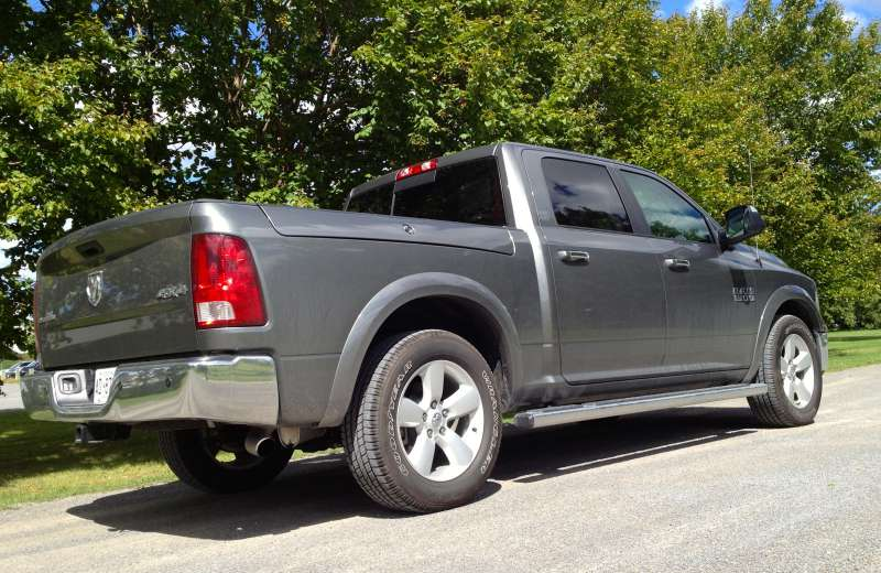 Pickup Review: 2013 Ram 1500 4×4 Quad Cab Outdoorsman