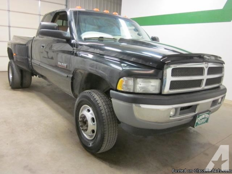 2002 Dodge Ram 3500 4x4 5.9 Diesel Quad Cab Automatic Dually for sale ...