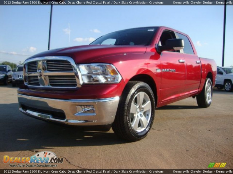 2012 Dodge Ram 1500 Big Horn Crew Cab Deep Cherry Red Crystal Pearl ...