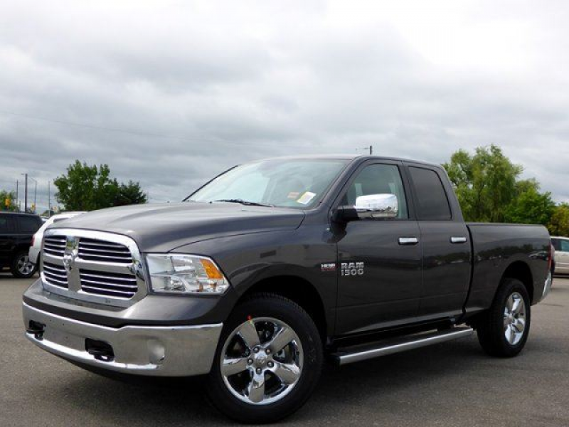 2014 Dodge RAM 1500 SLT NEW HEMI 4X4 QUAD CAB BACKUP CAM TOW HITCH ...