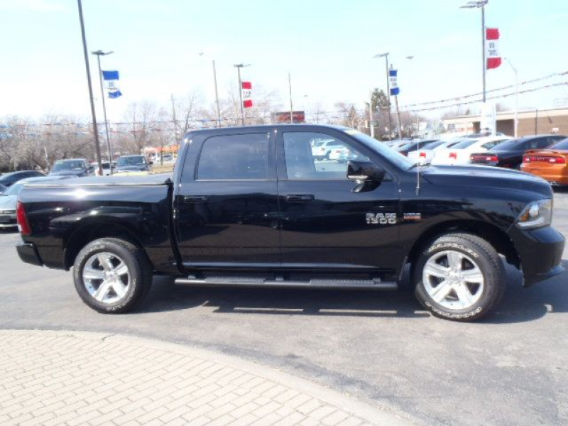 2014 Dodge RAM 1500 LEATHER SPORT CREW CAB 4X4 COMPANY CAR SAVE BIG ...