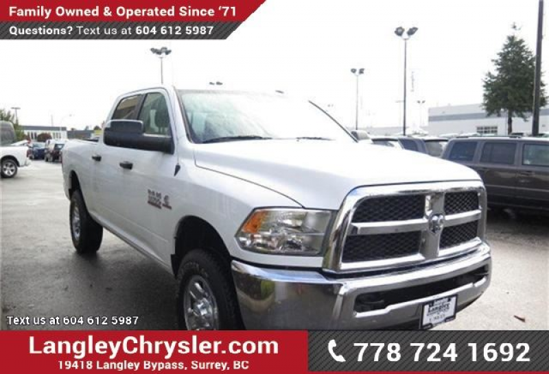 2014 Dodge RAM 3500 SLT w/ Power Accessories & Tow Package in Surrey ...