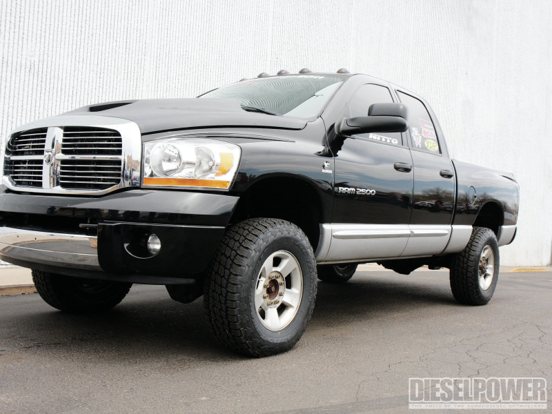 The Rams Of Diesel Power Challenge 2011 Dodge Ram 2500 Front Three ...