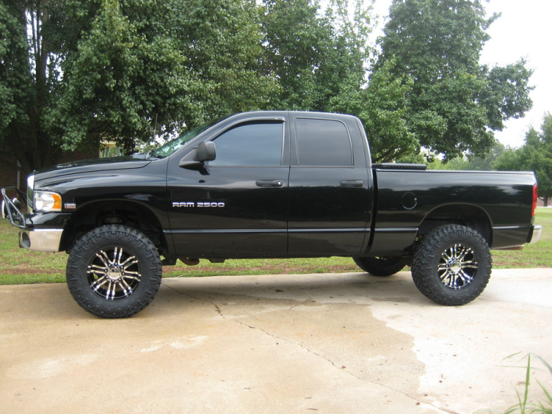 ... 1972 wheels with Nitto Trail Grappler tires on a 2005 Dodge Ram 2500