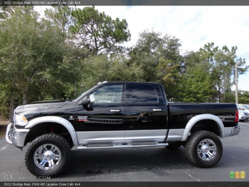 2012 Dodge Ram 2500 HD Custom Wheel and Tire Photo #55997821
