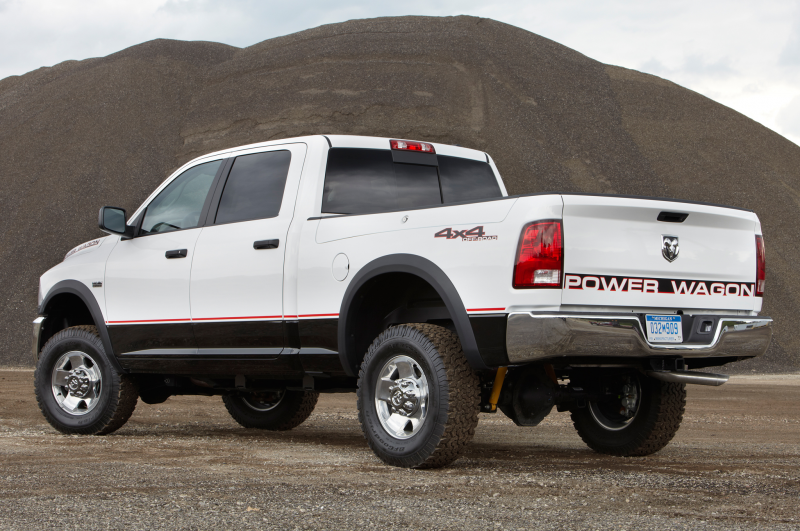 2013 Ram 2500 Hd Power Wagon Rear Three Quarters