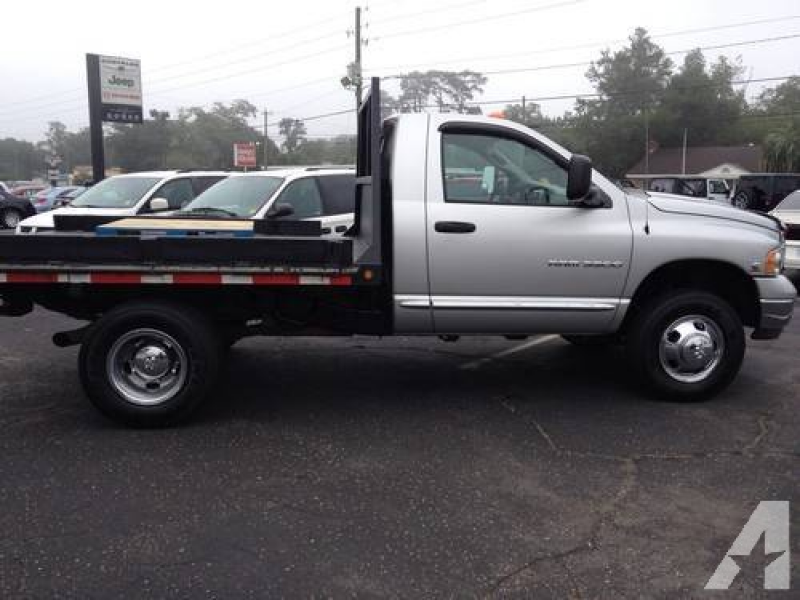RAM 3500 W/FLATBED 2005 W/5.9 CUMMINS for sale in Marianna, Florida