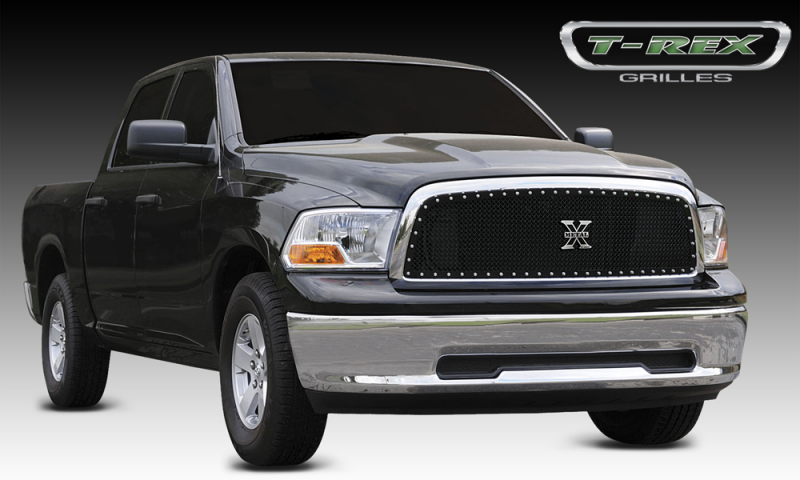 2009-2012 Dodge Ram 1500 X-METAL All Black Main Grille