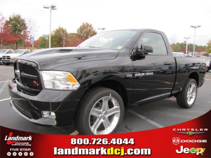 ... Crystal Pearlcoa 2011 Dodge Ram 1500 R/T with Dark Slate Gray seats